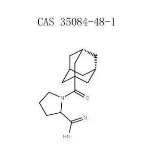 Σκόνη 1- (Αδαμαντάν-1-καρβονύλ) -πυρρολιδιν-2-καρβοξυλικού οξέος (35084-48-1)
