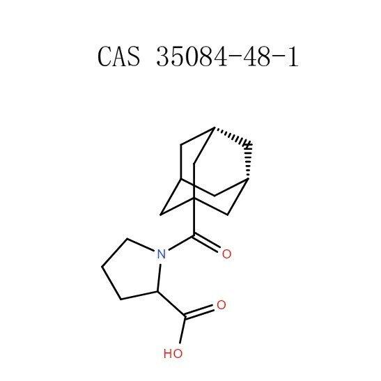 1-(Adamantane-1-carbonyl)-pyrrolidine-2-carboxylic acid powder (35084-48-1)