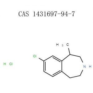 Купіць Lorcaserin HCL парашок (1431697-94-7) hplc≥98% - пудру