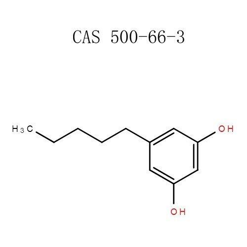 Pó de olivetol (3,5-hidroxipentilbenzeno) (500-66-3)